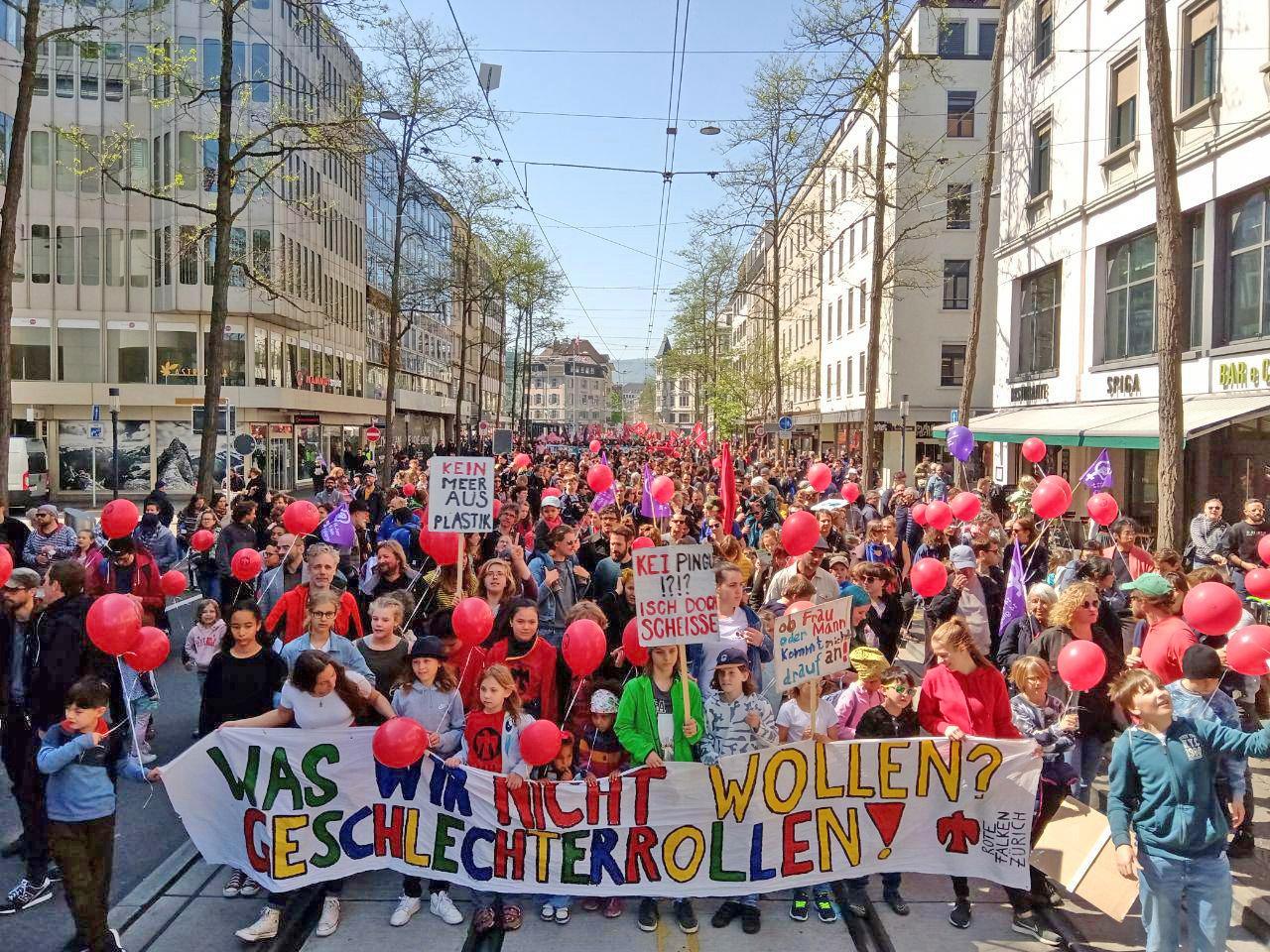 1. Mai: Was wir nicht wollen: Geschlechterrollen!