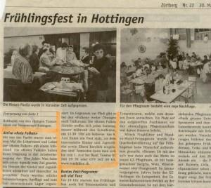 Züriberg 30. Mai 2002