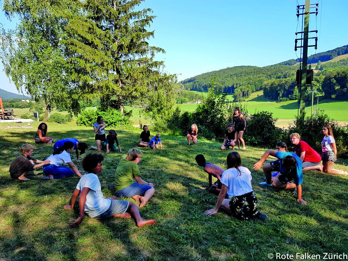 Sommerlager im Jura