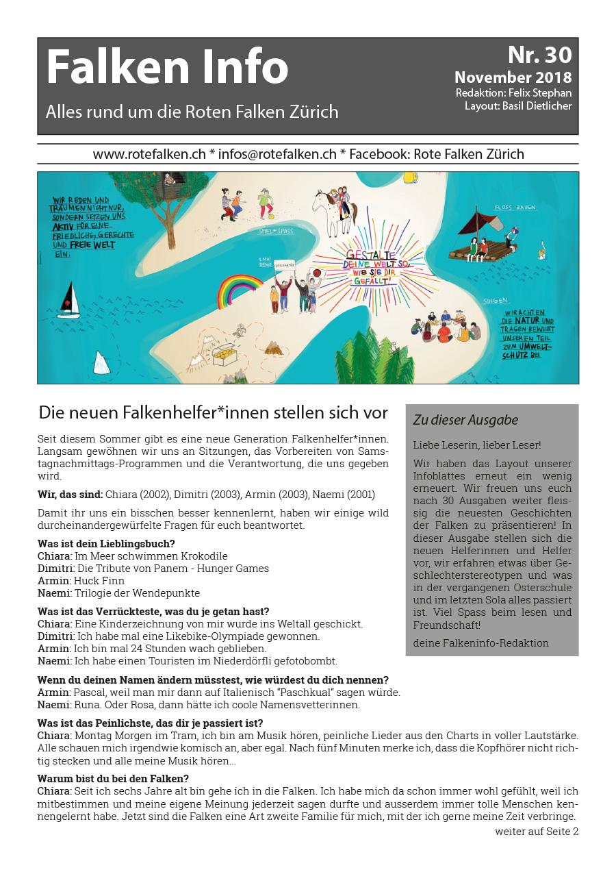 Neues Falken Info Nr. 30
