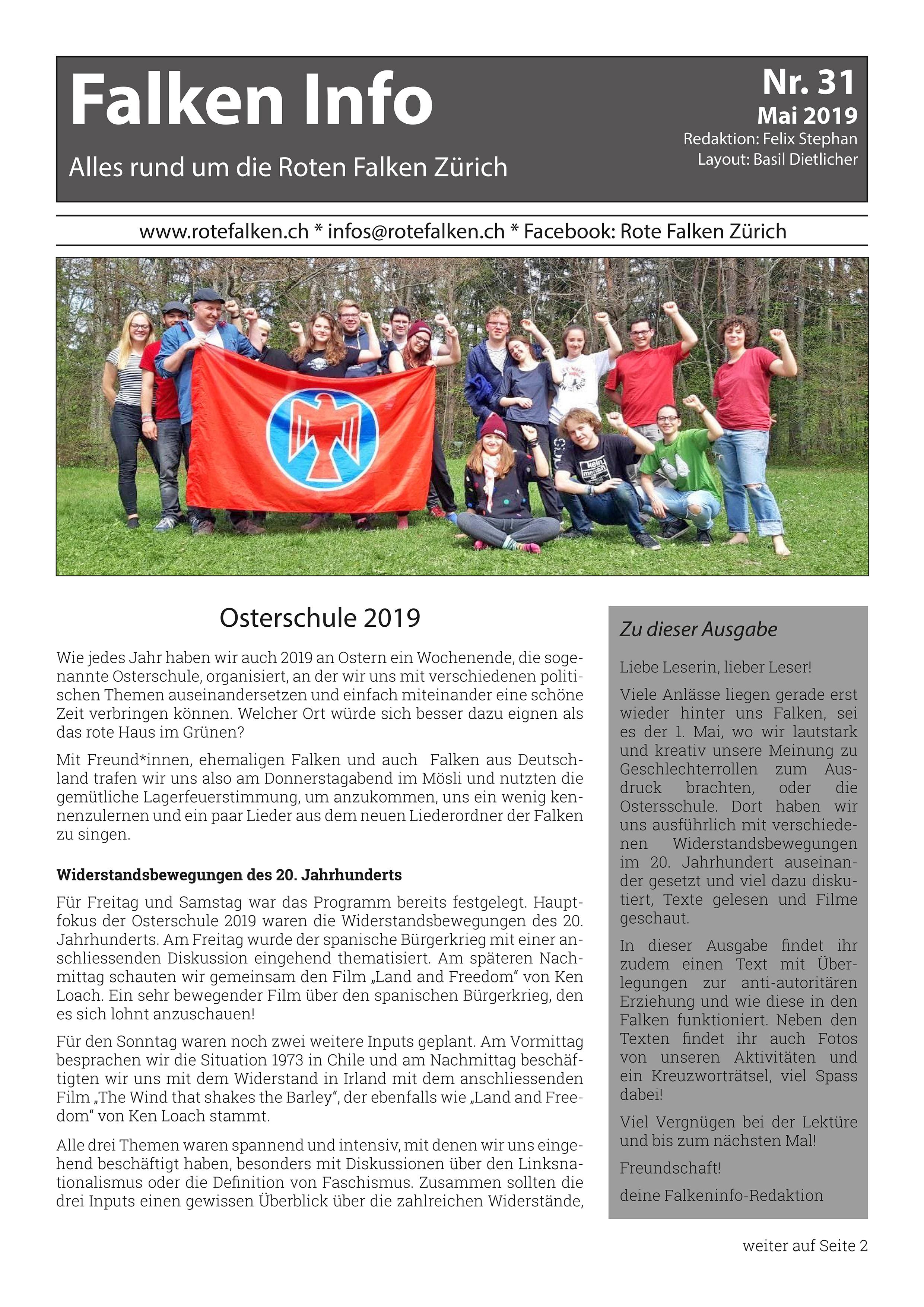Neues Falken Info Nr. 31