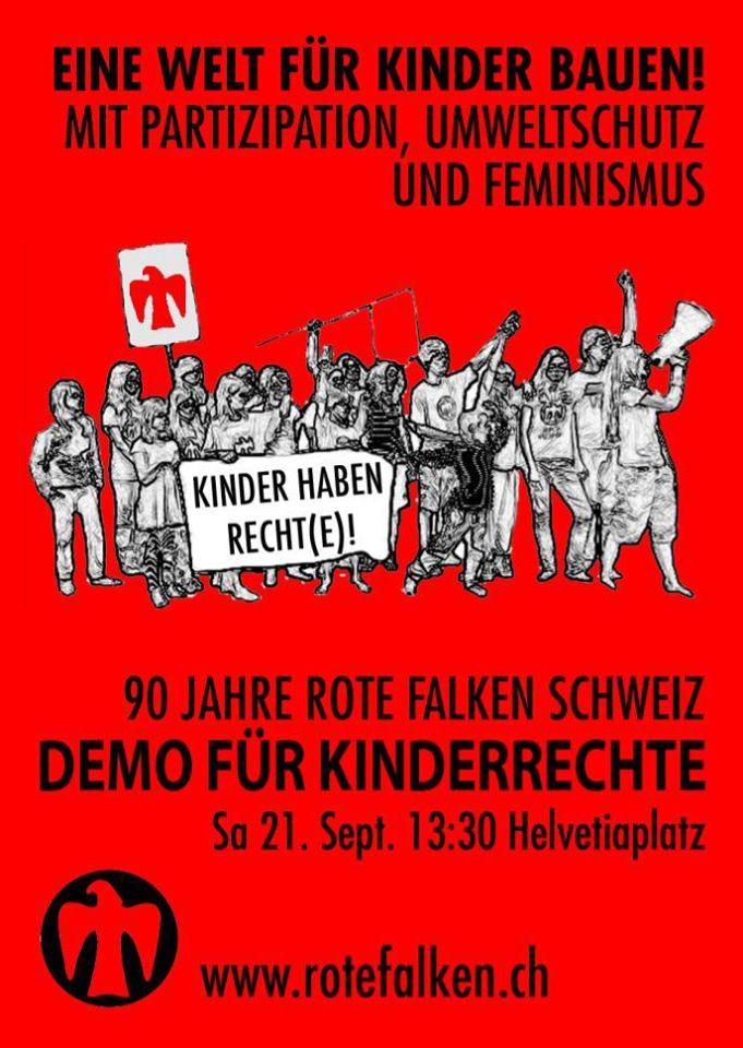 Kinderarmut in der Schweiz verstösst gegen Kinderrechte – Demonstration am 21. September